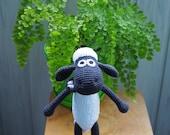 Shaun The Sheep Crochet Toy