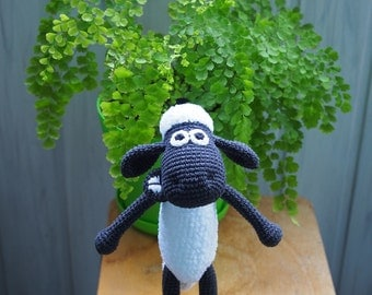 Shaun The Sheep Crochet Toy