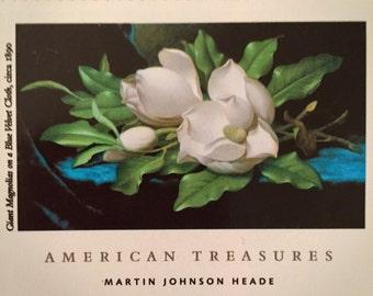 Giant Magnolias postage stamps