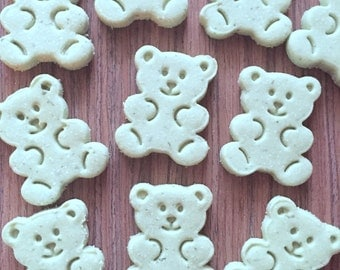 Dog Treats, Fresh Breath Grain-Free Organic Dog Treats, Vanilla Mint, Grain Free, Gluten Free, Gourmet Dog Treats, Dog Biscuits, Dog Gift