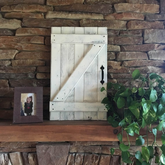 Mini Barn Door Wall Hanging Wood Shutters Barn By