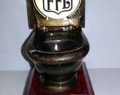 Last Place Toilet Trophy - Fantasy Football - ENGRAVED FREE