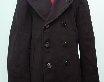 1949 naval pea coat