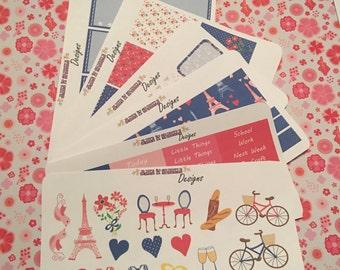 When In Paris (Planner Stickers for Erin Condren Life Planner)