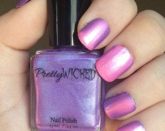 Pink/Purple Thermal Nail Polish, Aphrodite Polish, Pink Thermal Nail Polish, Purple Thermal Nail Polish, Color Changing Nail Polish