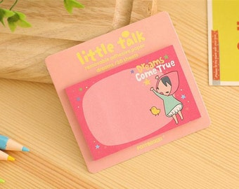 Little Talk - Dreams / Mini Sticky Notes / Cute Sticky Notes / Kawaii Sticky Notes / Cute Notepad / Kawaii Notepad / Cute Small Notes