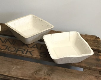 2 Small Concrete Bowl