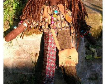 handcrafted handmade artistic hippie dolls, hippie styling and accesorises, designers dolls, perfect handmade toys and gifts, artistic gift