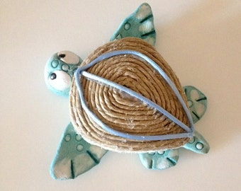 Decorative sea turtle