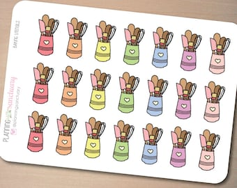 Baking Utensils Planner Stickers Perfect for Erin Condren, Kikki K, Filofax and all other Planners