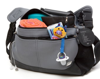 Neoprene Diaper Bag for Cool Parents and Babies