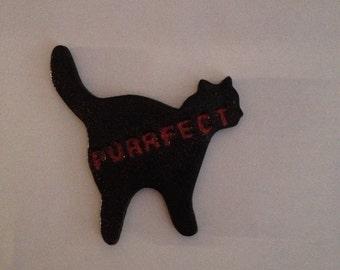 Purrfect cat magnet
