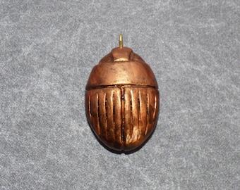Scarab Beetle Pendant