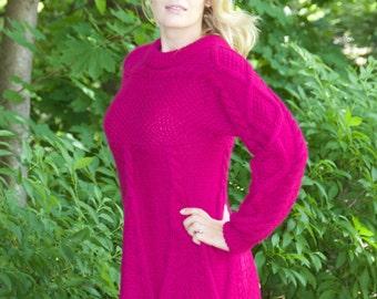 Long Sleeve Knit Sweater, Long sleeve, Winter Sweater, Knit, women, handmade sweater,