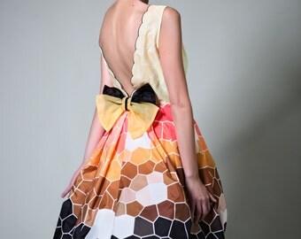 Fleur Kelinza erika-jane bow dress
