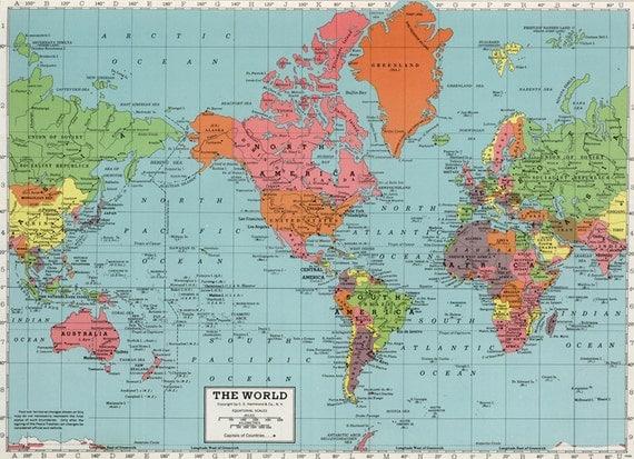 hi res world maps