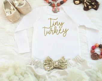 Baby girl Thanksgiving outfit - Thanksgiving one piece - Turkey shirt girl - Thanksgiving bodysuit girl - Thanksgiving shirt for baby girl
