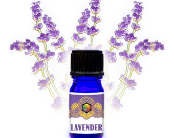 Biodynamic French Lavender Essential Oil - Support for Burns, Anxiety - Organic - Wildcrafted
