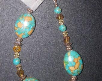 Mosaic Turquoise Bracelet