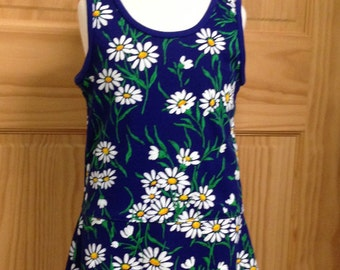 Daisy Tank Dress for Girls XS-M (1-3)