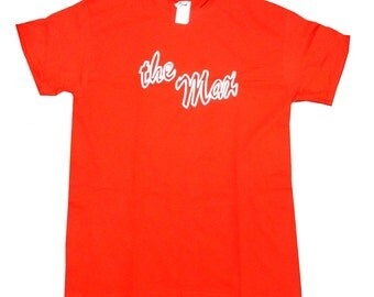 The Max T-shirt As The Waiter Max Wears On Saved By The Bell TV Show Shirt Owner Kelly Kapowski Restaurant Hangout 90s Costume Adult Red
