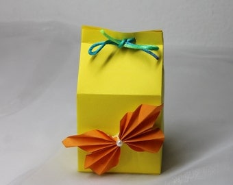 Gift Box for Women / Gift Box for bridesmaids / Box for Gifts / Milk Carton box / Favor Box / Gift Packing / Box for Presents / Gift Carton