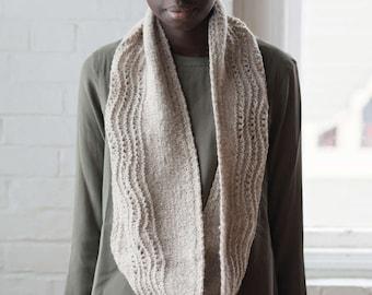 Knitting pattern - Wending Cowl - Infinity Cowl - PDF download