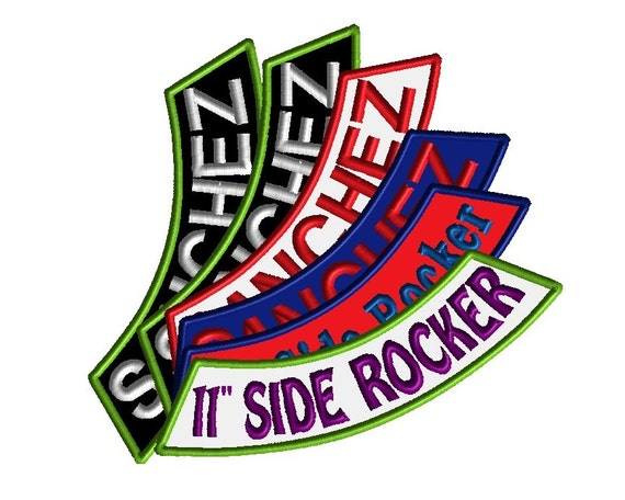 Side rocker patches custom