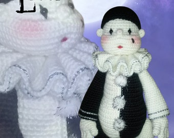33 - Little Pierrot (Crochet Pattern)