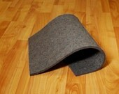 "F15 Industrial Wool Felt by the Foot - Natural Gray, Low Density, 72"" Wide, 1/8"" to 1"" Thicknesses Available"