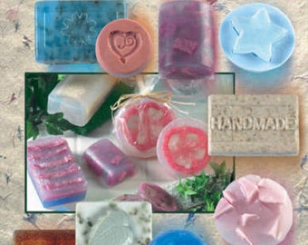 Natural Soap Making Katie Hacker Hot off the Press 2264 54 projects 34 pages