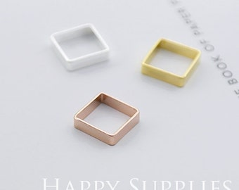 High Quality Geometry Pendant Charms / Connector (ZG191)