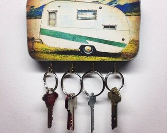 Key Rack / Jewelry Rack / Key Hook (Camper)