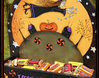 E PATTERN - Witch's Treats for everyone! Designed & Painted by Sharon Bond - FAAP