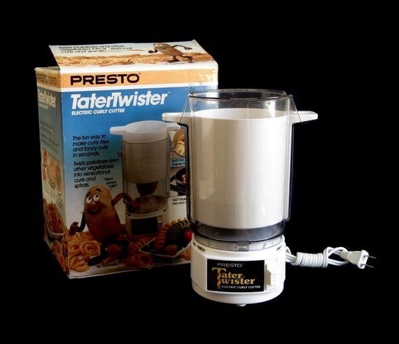 Presto Tater Twister Curly Fry Cutter Small Appliance