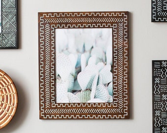11x14 Wood Picture Frame | 11x14 | Brown Frame
