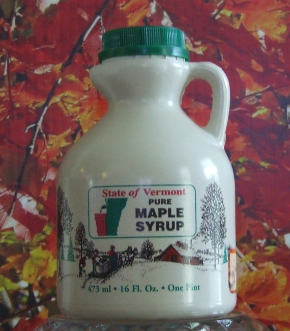 One Pint of Pure VT Maple Syrup