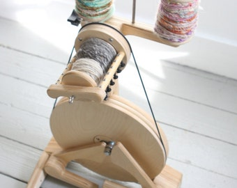 Spinolution Polywog - Spinning Wheel - Childrens Wheel - Travel Wheel