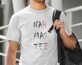 NAHMASTEE - NAMASTE Men's YOGA Ohm Meditation T-Shirt