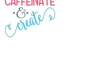 Caffeinate and create SVG FILE ONLY