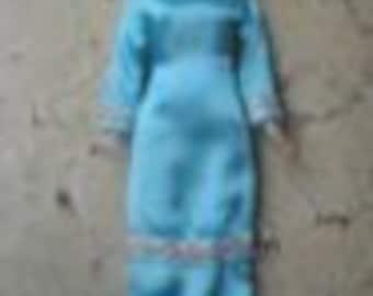SATIN MUSLIM Barbie Clothes, Modest Barbie clothes, Muslim modest Barbie outfit, Muslim doll Outfit, Islamic doll clothes, Muslim Girls Gift