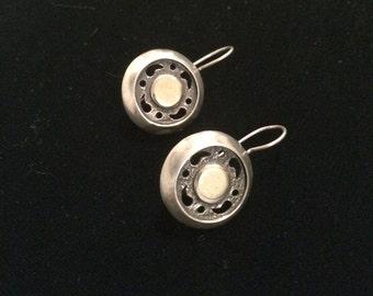 Vintage Silvertone Earrings