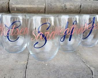 Girls Weekend, Girls Getaway, Customizable Wine Glasses, Personalized Wine Glasses