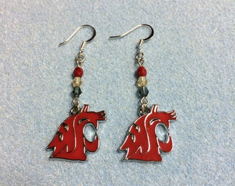 WSU - WA State University Earrings