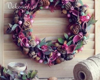 Front Door Wreaths , Wreath ,Fall Decor , Autumn Wreath,  Front Door Decoration ,thanksgiving decor