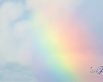 Limited Edition ~ Somewhere Over the Rainbow ~ Warwick Neck, Rhode Island, Fine Art Canvas, Artwork, New England,Fine Art Photography,Joules