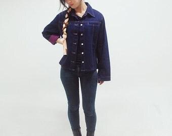 Blue / Purple / Denim Jacket