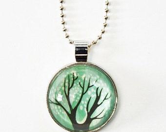 nature pendant, tree necklace, tree life jewelry, mother earth jewelry, mom necklace, tree hugger jewelry for mom, nature lover jewelry