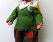 Vintage Boy Peasant Gnome by Arne Hasle, made in Norway, Nisse Elf Troll Gnome Goblin