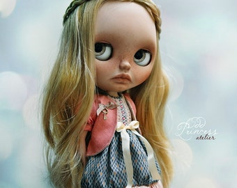 WILD FLOWER Ooak Victorian BLYTHE Set By Odd Princess Atelier, Vintage Style, Special Outfit
